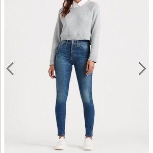 Lucky Brand High Waisted Skinny Jean